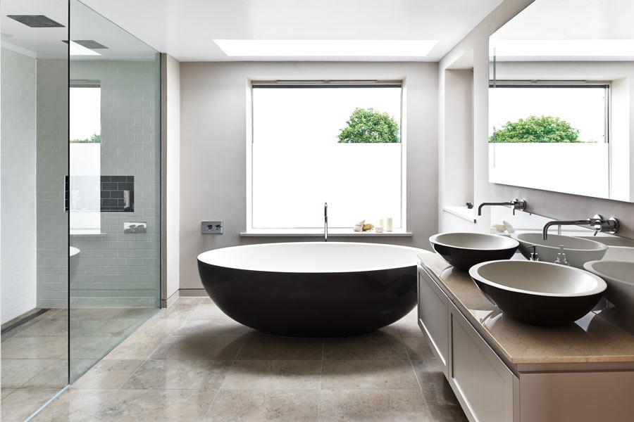 Bespoke bathroom in modern style