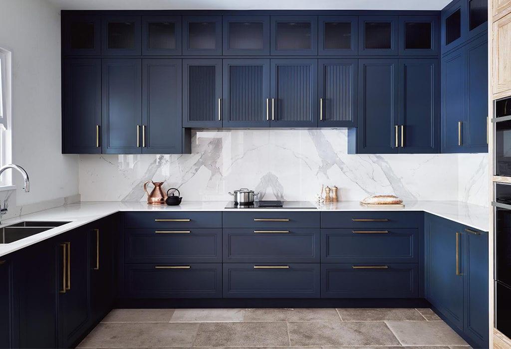 Hague Blue kitchen