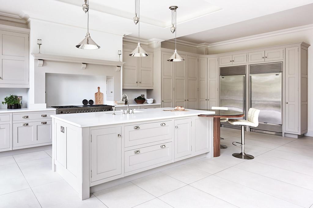 White kitchen from Cheverell