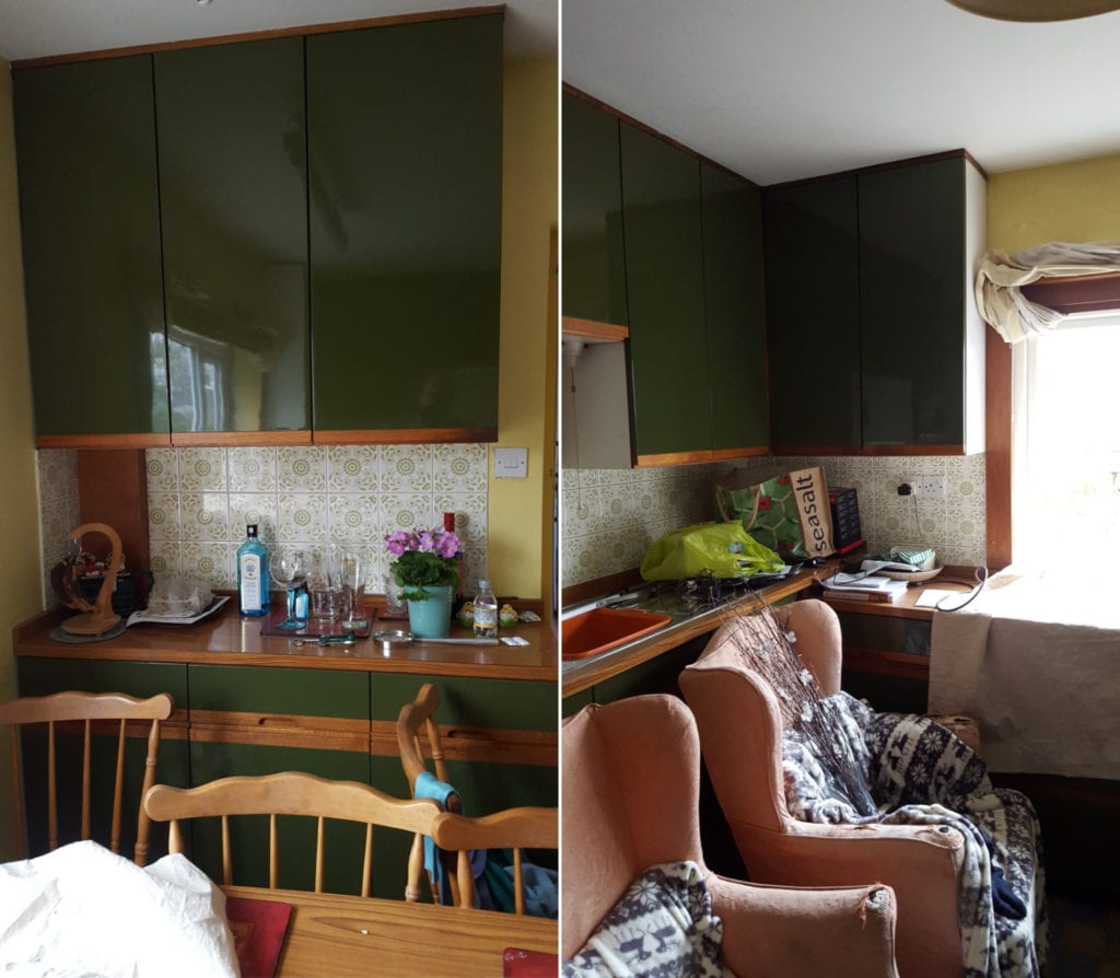 Before kitchen makeover